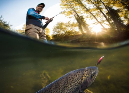 Pêche à Amélie Les Bains